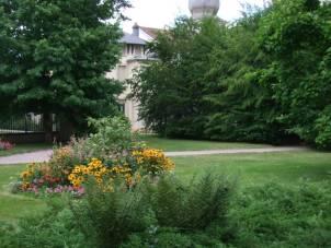 Vue partielle du parc où se produira mercredi 17 août le quatuor de jazz