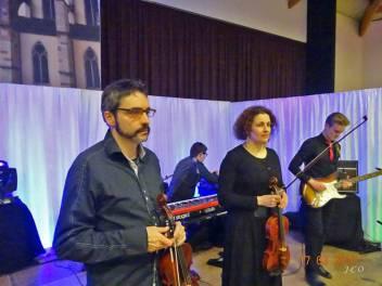 11 Les violonistes