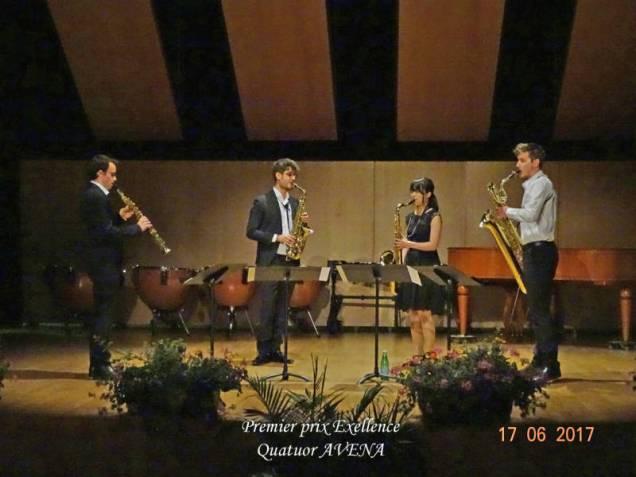 38 Quatuor Avena 1ier exellence