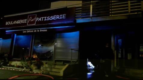 Incendie Boulangerie Pinot La Bresse 7