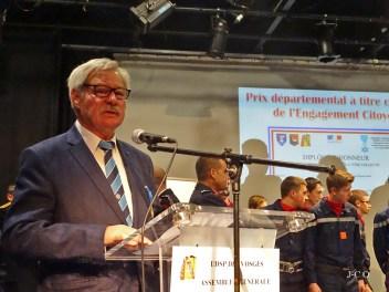 18 Allocution de Oscar Durr Président Vosges OrdreNational du Mérite