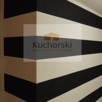 Malowanie pokoju - czarno białe ściany