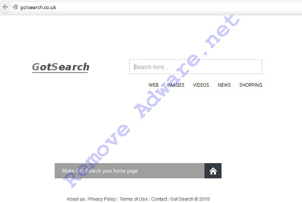 GotSearch.co.uk remove