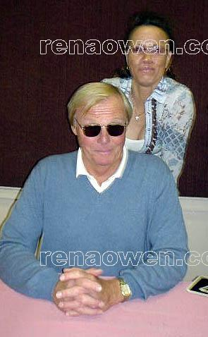 Rena and Adam West (Batman)