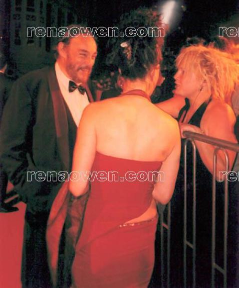 Rena and John Rhys-Davies