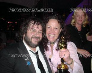 Rena and Lord of the Rings director Peter Jackson