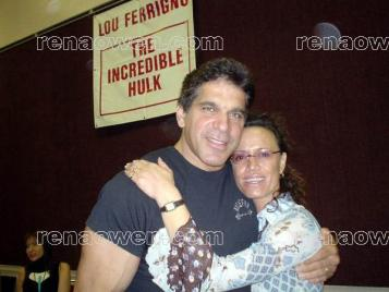 Rena and Lou Ferrigno (The Incredible Hulk)