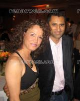 Rena with fellow New Zealand actor Cliff Curtis