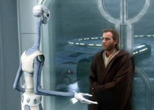 Taun We (Rena Owen) bids farewell to Obi-Wan Kenobi (Ewan McGregor)