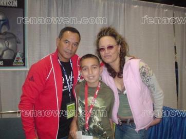 Temuera, Gabriel & Me