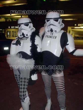 Troopers in tutus