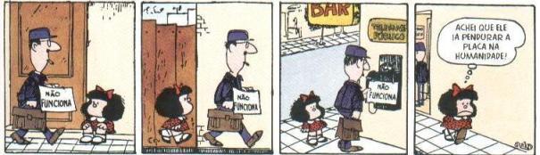 mafalda4111 Mafalda /// Autor da personagem trolla a imprensa e diz que aniversário de 50 anos será somente em 2014