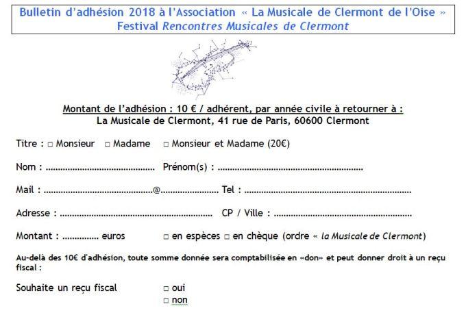 B. Adhésion LMCO 2018