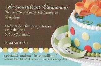 Carte - Au Croustillant Clermontois