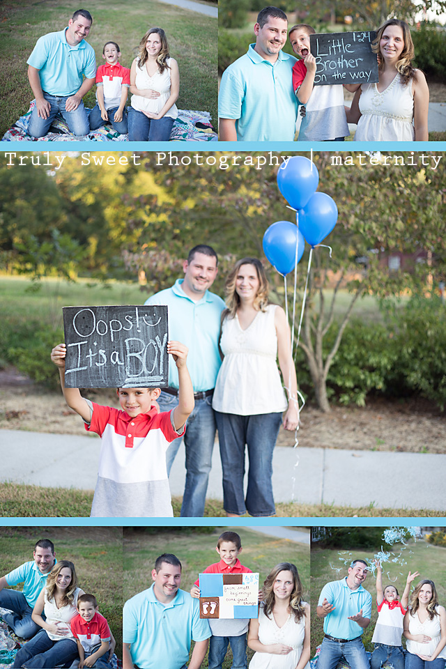 Gender reveal photographer | Truly Sweet Photography