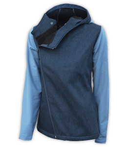 Renegade-club-womens-full-diagonal-zip-woven-outdoor-soft-shell-jacket-blue-fitted-outdoor-jacket-soft-hood
