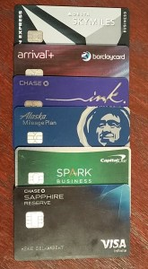 many of my current travel cards renespoints travel blog