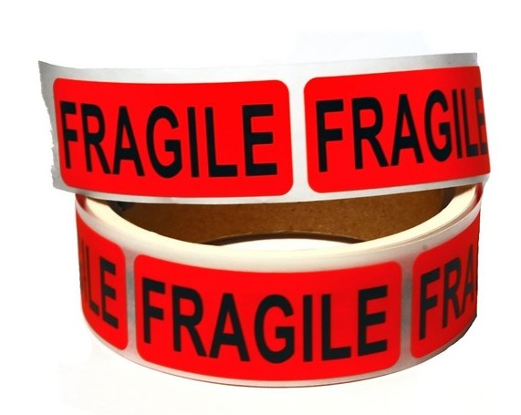 Fragile Package Label Box Company