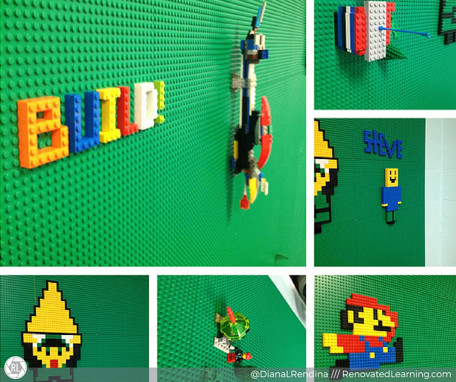 Our first Epic LEGO Wall builds | RenovatedLearning.com