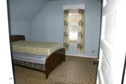 2nd floor bedroom - to be the master bedroom.