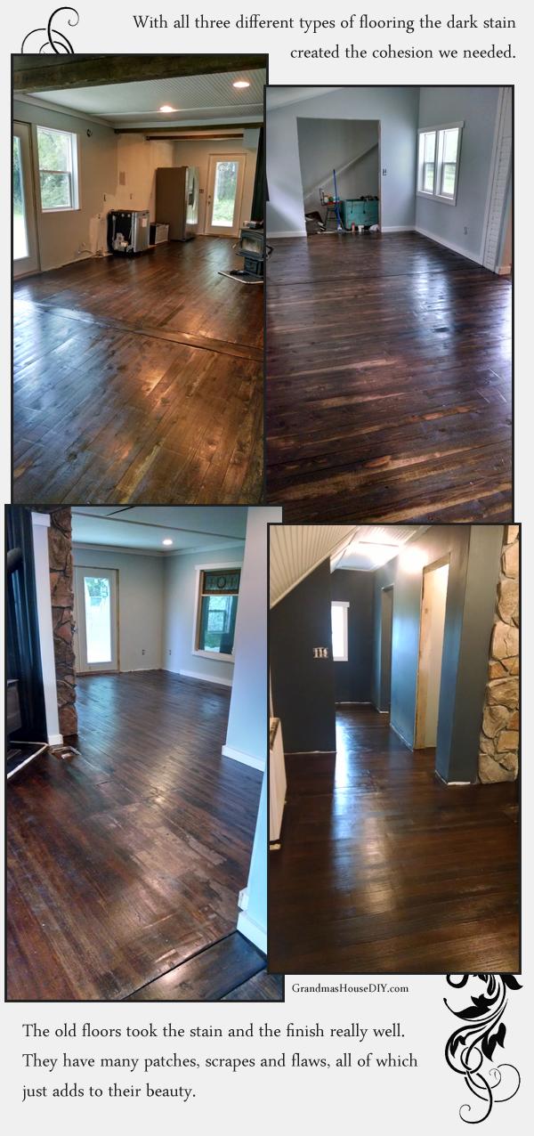 original floors dark walnut stain