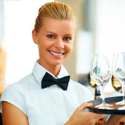 Hire a server for event