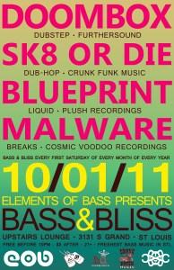 Bass & Bliss Poster