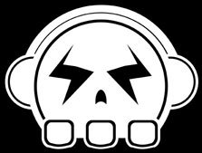 Elements of Bass Skull Logo