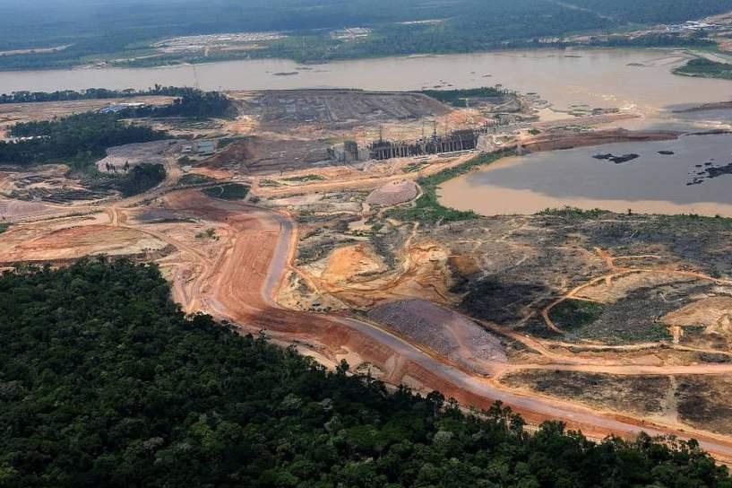 Construção de Jirau é uma das principais do PAC2. Foto: Divulgação