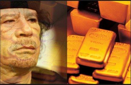 Gaddafi gold