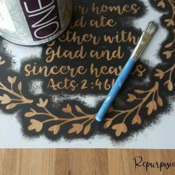 Paint is Like Salt: 15 Steps and Tips for Awesome Stenciling
