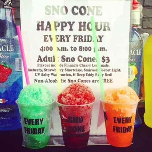 Medium Of Snow Cone Flavors