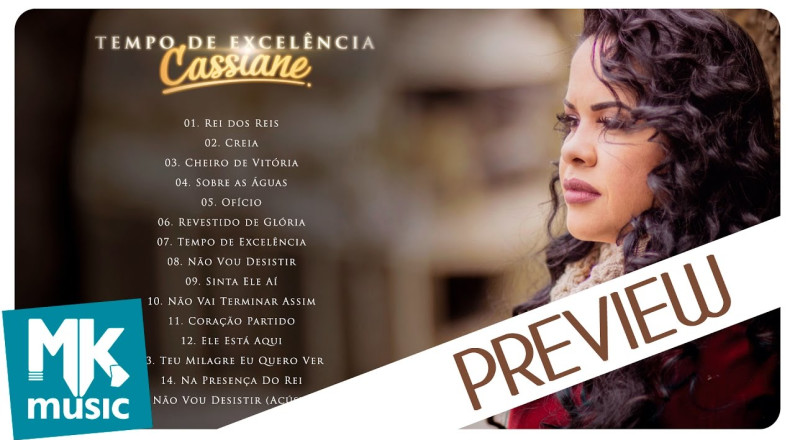 Cassiane - Preview Exclusivo do CD Tempo de Excelência