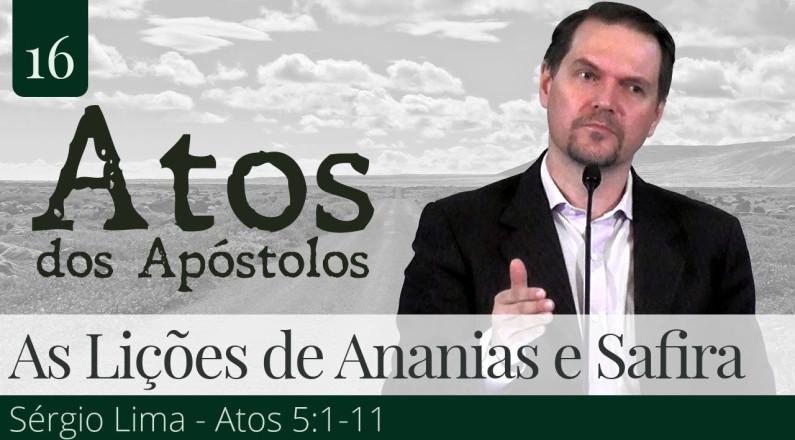 Pregação Expositiva no Livro de Atos dos Apóstolos - Sérgio Lima