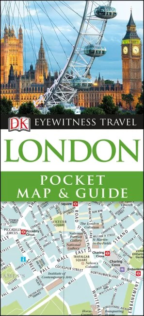 London Pocket Map and Guide   DK UK London Pocket Map and Guide