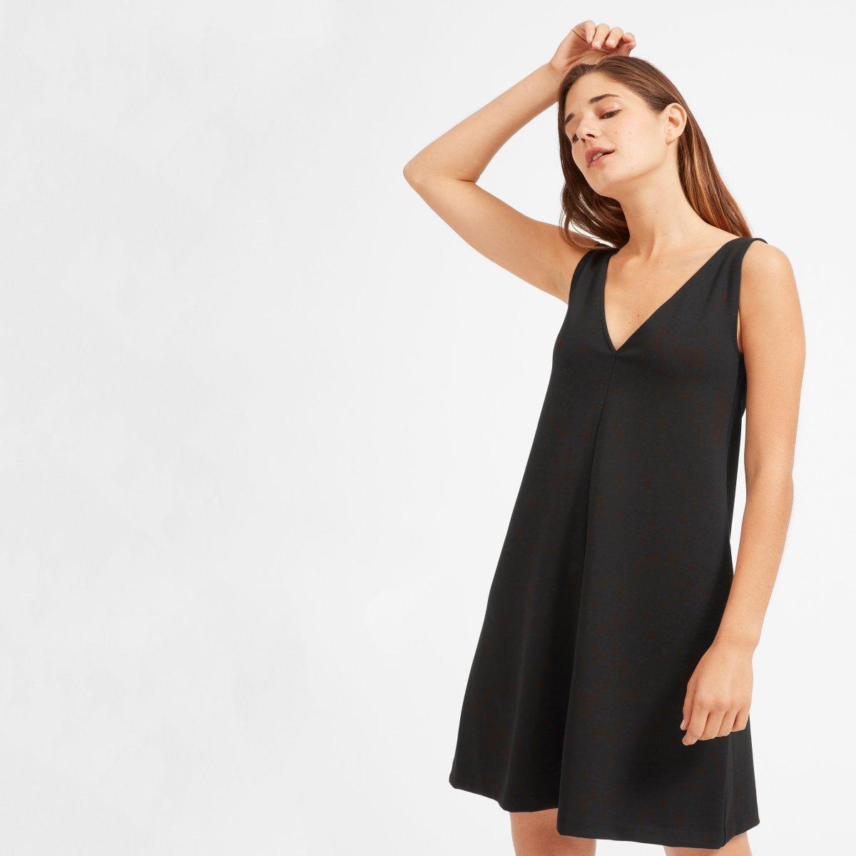 Fullsize Of Deep V Neck Dress
