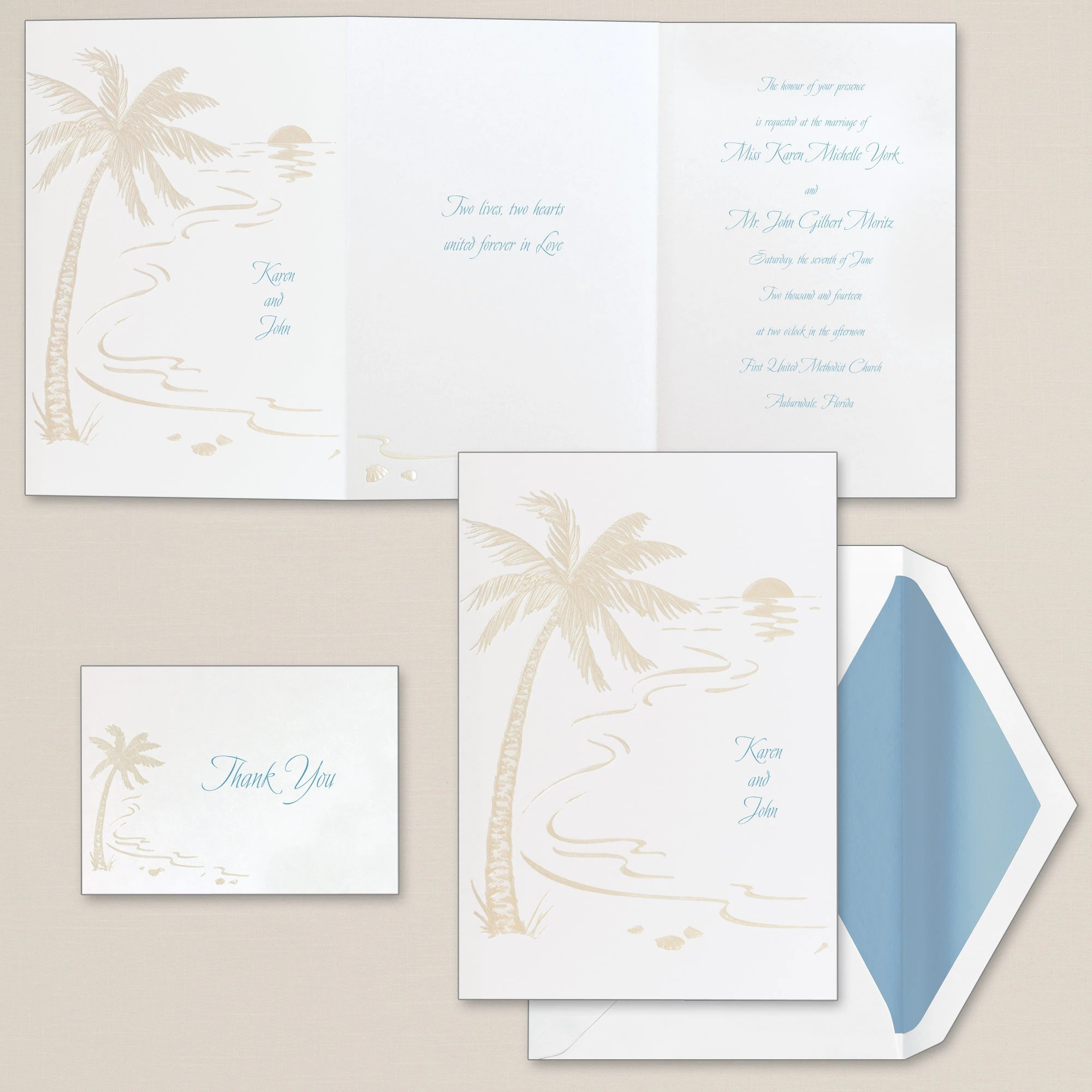 Beach Wedding Invitation viewall true beach wedding invitations Tropical Sunset