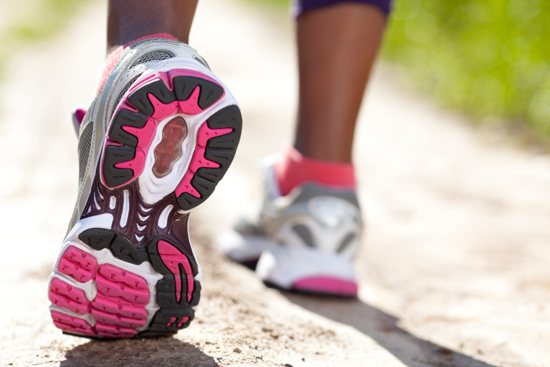 study walk lose weight
