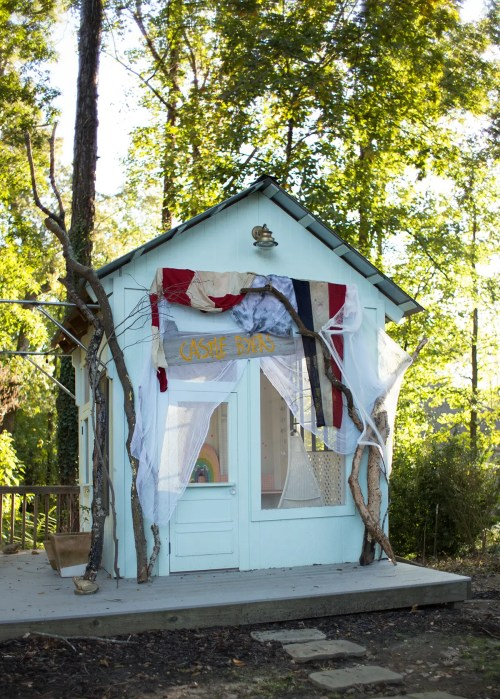 Medium Of Backyard Party Shed