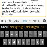 Bildschirmfoto beim Schreiben erstellt.