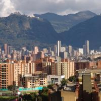 Settling in in Bogotá
