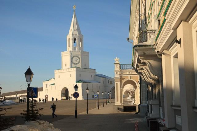 Башня кремля, Казань 2012