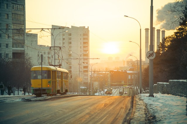 Трамвай УХОДИТ В ЗАКАТ, Дмитрий Афонин, 2012