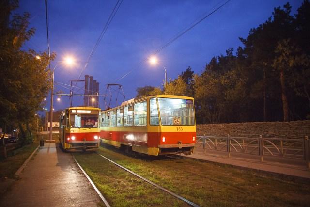 Типичный екатеринбургский трамвай