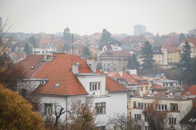 Знаменитые рыжие крыши, Прага, 2012