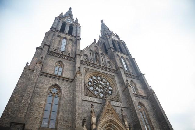 Церковь святой Людмилы, Прага, 2012