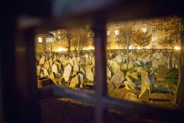 Старое еврейское кладбище, Прага, 2012