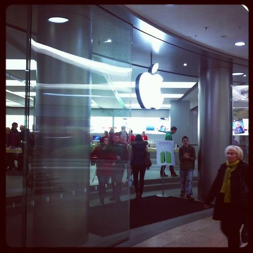 Apple Store, Дрезден, 2012