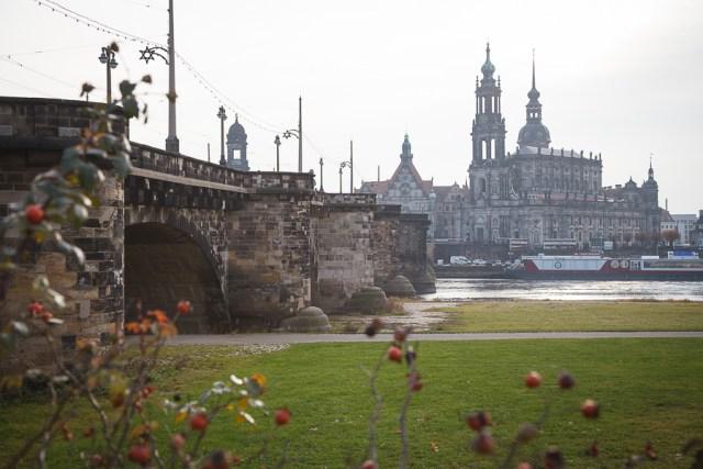 Мост Августа, Дрезден, 2012