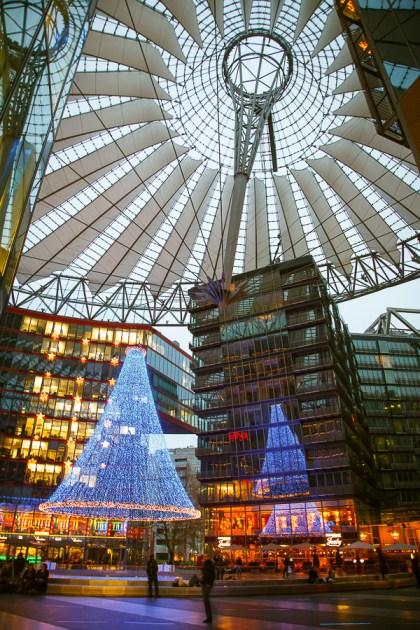 Сони Центр, достопримечательности Берлина